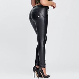 NWOT Freddy WR.UP Faux Leather Booty Lifting Pants